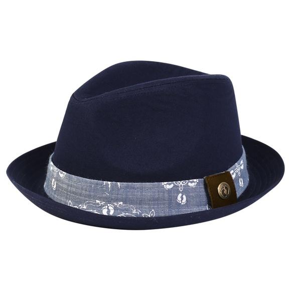 Hang Ten Other - Hang Ten Fedora Hat (Navy)